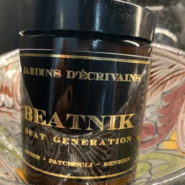 Bougie Beatnik Beat Generation,170gr – Jardins d'Écrivains